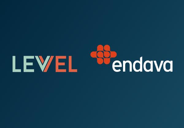 Levvel and Endava logos